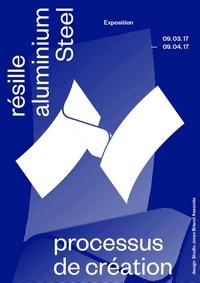 Visuel affiche expo biennale du design 2