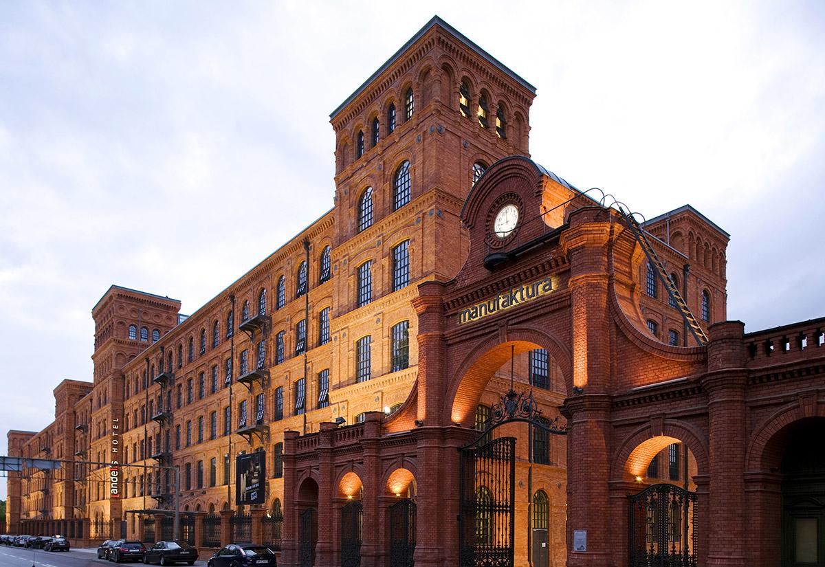 Manufaktura, Łódź-Pologne - Apsys
