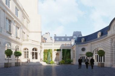 Dix_Rue_De_Solferino_Cours d honneur _Jean Paul Viguier
