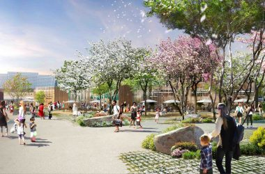 Steel, Saint-Etienne - Axe du design printemps - Apsys - Retail Park Golem