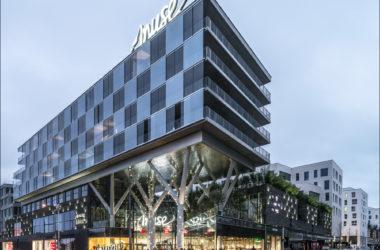 Muse extérieur - Kamel Khalfi - Apsys centre commercial Apsys group