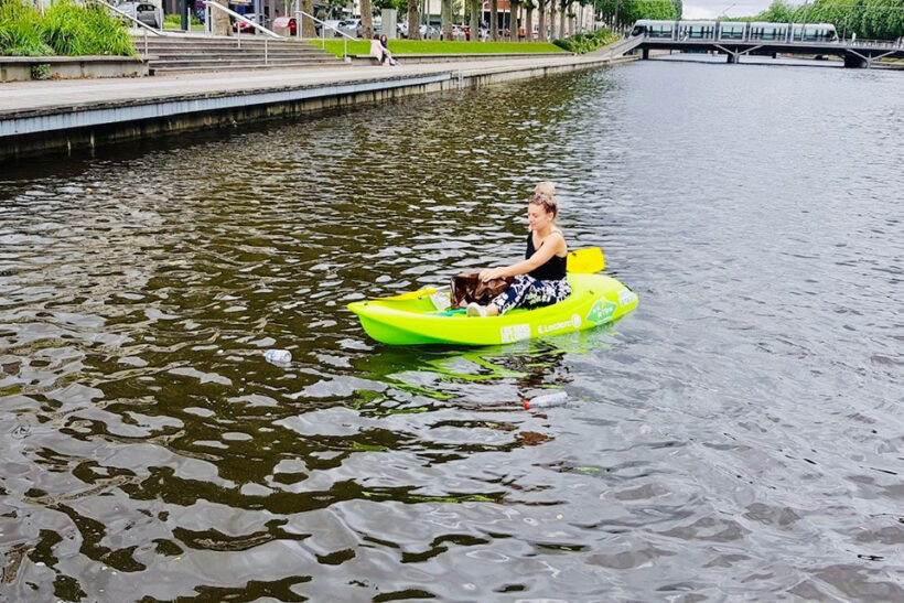 Kayak vert Les Rives de l'Orne 2021