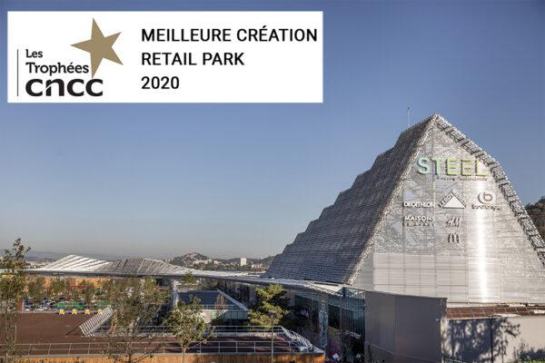 Steel_Trophée CNCC Meilleur Retail Park 2021